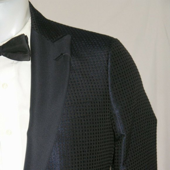 Giorgio Armani Other - Armani Black Label Silk One Button Tuxedo Jacket